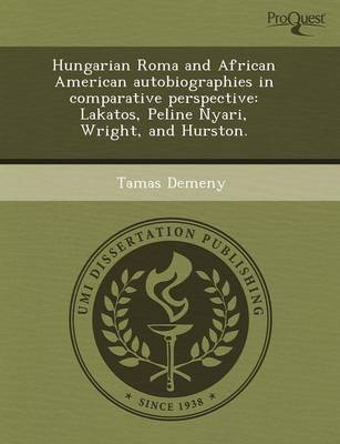 Hungarian Roma and African American Autobiographies in Comparative Perspective: Lakatos (Paperback)