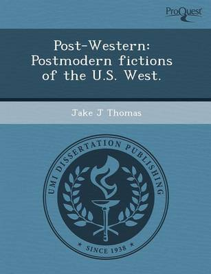Post-Western: Postmodern Fictions of the U.S (Paperback)