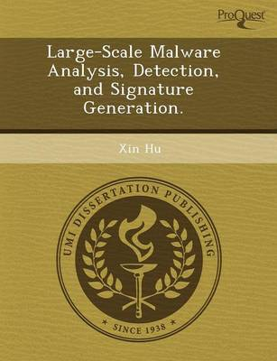 Large-Scale Malware Analysis (Paperback)