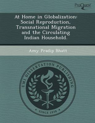 At Home in Globalization: Social Reproduction (Paperback)
