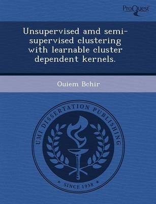 Unsupervised AMD Semi-Supervised Clustering with Learnable Cluster Dependent Kernels (Paperback)