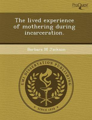The Lived Experience of Mothering During Incarceration (Paperback)