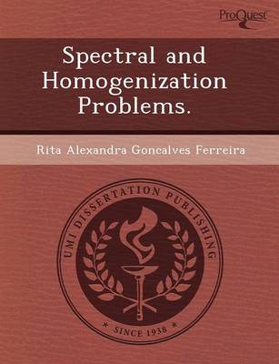 Spectral and Homogenization Problems (Paperback)