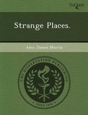 Strange Places (Paperback)