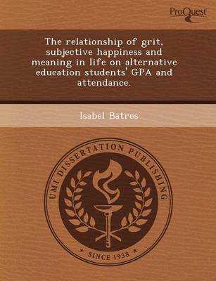 The Relationship of Grit (Paperback)