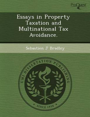 Essays in Property Taxation and Multinational Tax Avoidance (Paperback)