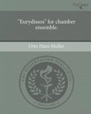 Eurydissos for Chamber Ensemble (Paperback)