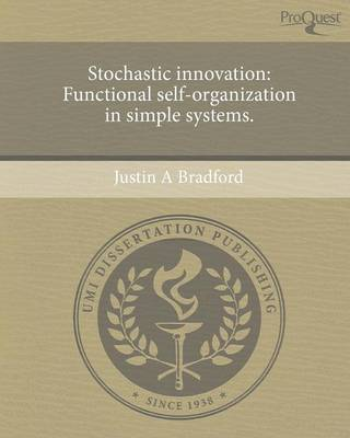Stochastic Innovation: Functional Self-Organization in Simple Systems (Paperback)
