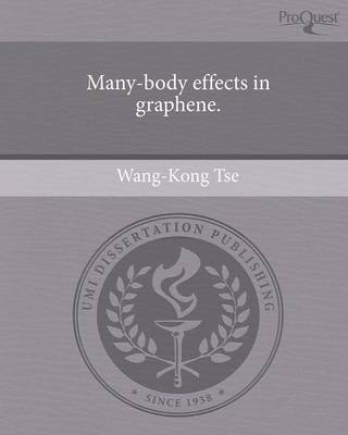 Many-Body Effects in Graphene (Paperback)