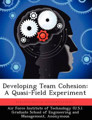Developing Team Cohesion: A Quasi-Field Experiment (Paperback)