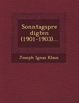 Sonntagspredigten (1901-1903)... (Paperback)