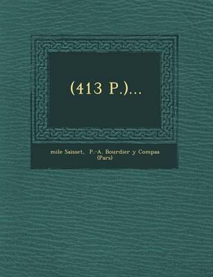 (413 P.)... (Paperback)
