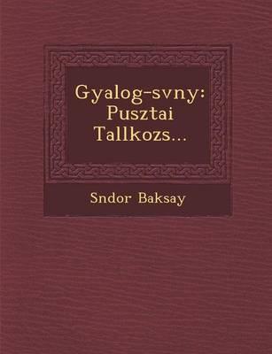 Gyalog- Sv NY: Pusztai Tal Lkoz S... (Paperback)