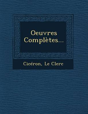 Oeuvres Completes... (Paperback)