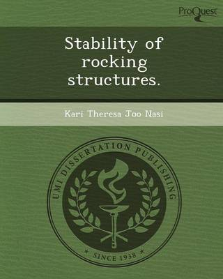 Stability of Rocking Structures (Paperback)