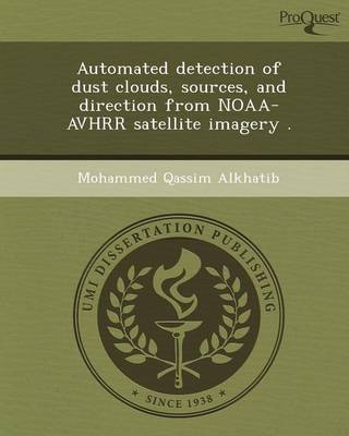 Automated Detection of Dust Clouds (Paperback)