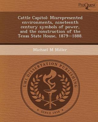 Cattle Capitol: Misrepresented Environments (Paperback)