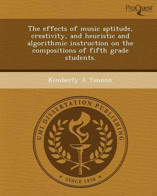 The Effects of Music Aptitude (Paperback)