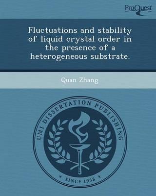 Fluctuations and Stability of Liquid Crystal Order in the Presence of a Heterogeneous Substrate (Paperback)
