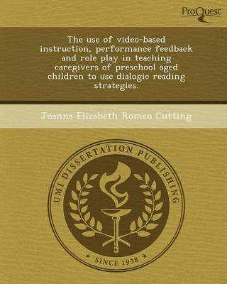 The Use of Video-Based Instruction (Paperback)