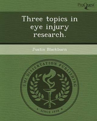 Three Topics in Eye Injury Research (Paperback)
