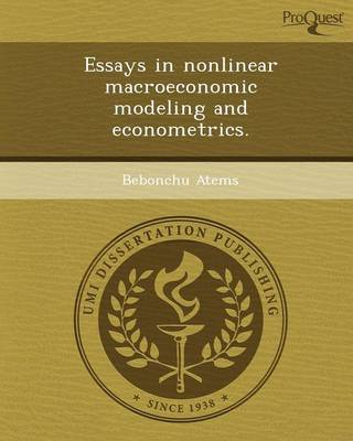 Essays in Nonlinear Macroeconomic Modeling and Econometrics (Paperback)