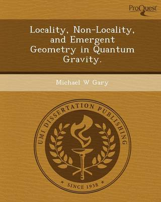 Locality (Paperback)