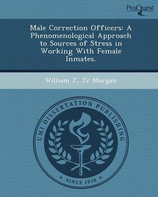 Male Correction Officers: A Phenomenological Approach to Sources of Stress in Working with Female Inmates (Paperback)