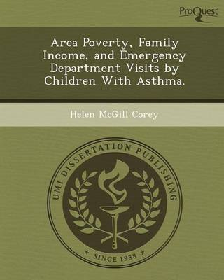 Area Poverty (Paperback)