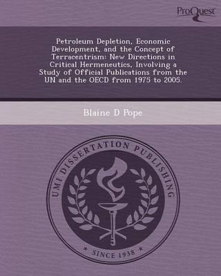 Petroleum Depletion (Paperback)