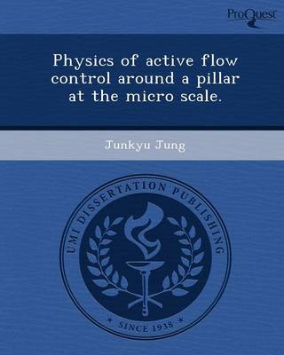 Physics of Active Flow Control Around a Pillar at the Micro Scale (Paperback)