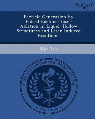Particle Generation by Pulsed Excimer Laser Ablation in Liquid: Hollow Structures and Laser-Induced Reactions (Paperback)