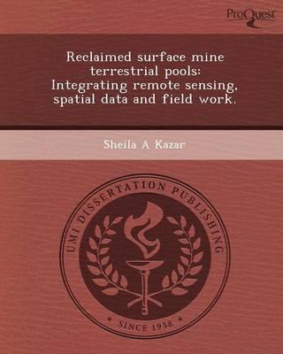 Reclaimed Surface Mine Terrestrial Pools: Integrating Remote Sensing (Paperback)