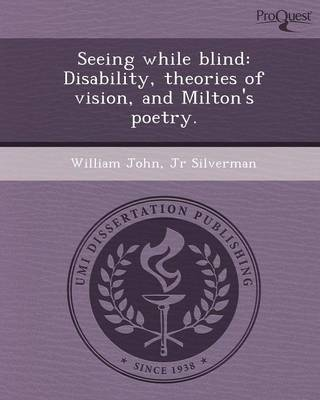 Seeing While Blind: Disability (Paperback)