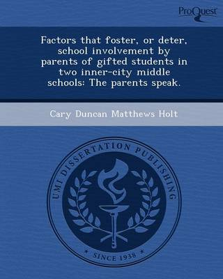 Factors That Foster (Paperback)