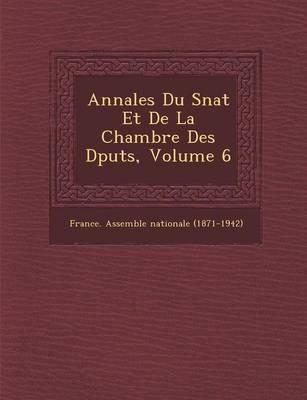 Annales Du S Nat Et de La Chambre Des D Put S, Volume 6 (Paperback)