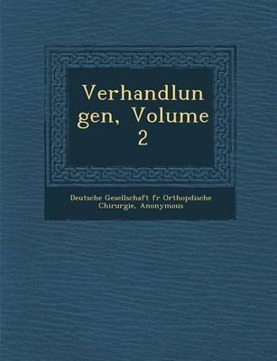 Verhandlungen, Volume 2 (Paperback)