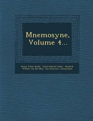 Mnemosyne, Volume 4... (Paperback)