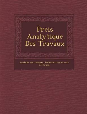 PR Cis Analytique Des Travaux (Paperback)