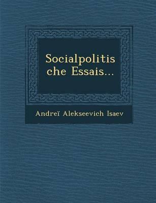 Socialpolitische Essais... (Paperback)
