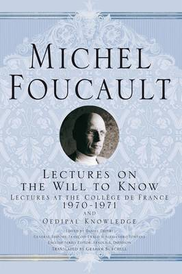Lectures on the Will to Know (Paperback)