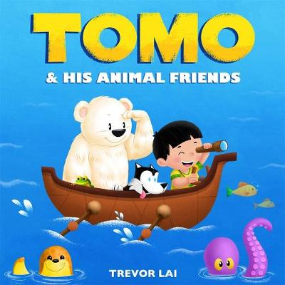 Tomo and His Animal Friends (Board book)
