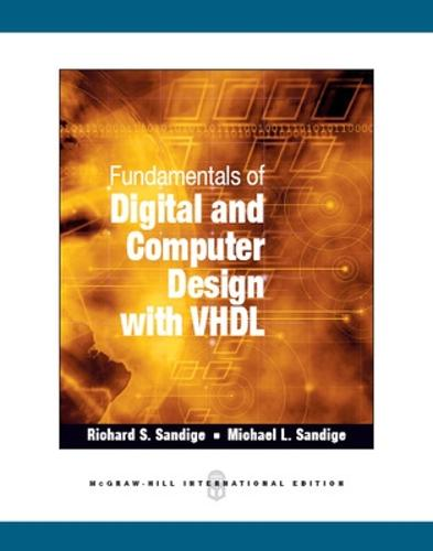 Fundamentals of Digital and Computer Design with VHDL (Book)