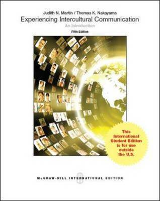 Experiencing Intercultural Communication: An Introduction (Int'l Ed) (Paperback)