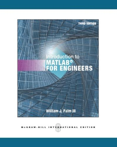 Introduction to MATLAB for Engineers (Paperback)