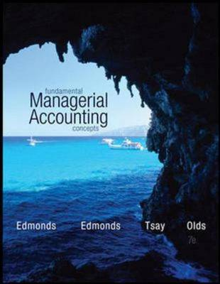 Fundamental Managerial Accounting Concepts (Int'l Ed) (Paperback)