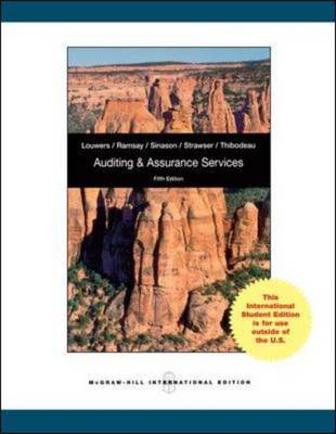 Auditing and Assurance Services with ACL CD