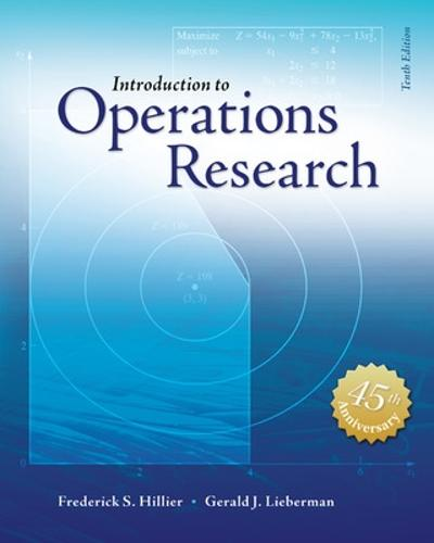Introduction to Operations Research with Access Card for Premium Content (Hardback)