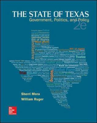 The State of Texas: Government, Politics, and Policy (Paperback)