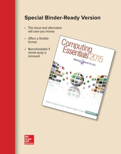 Computing Essentials 2015 Introductory Edition (Paperback)